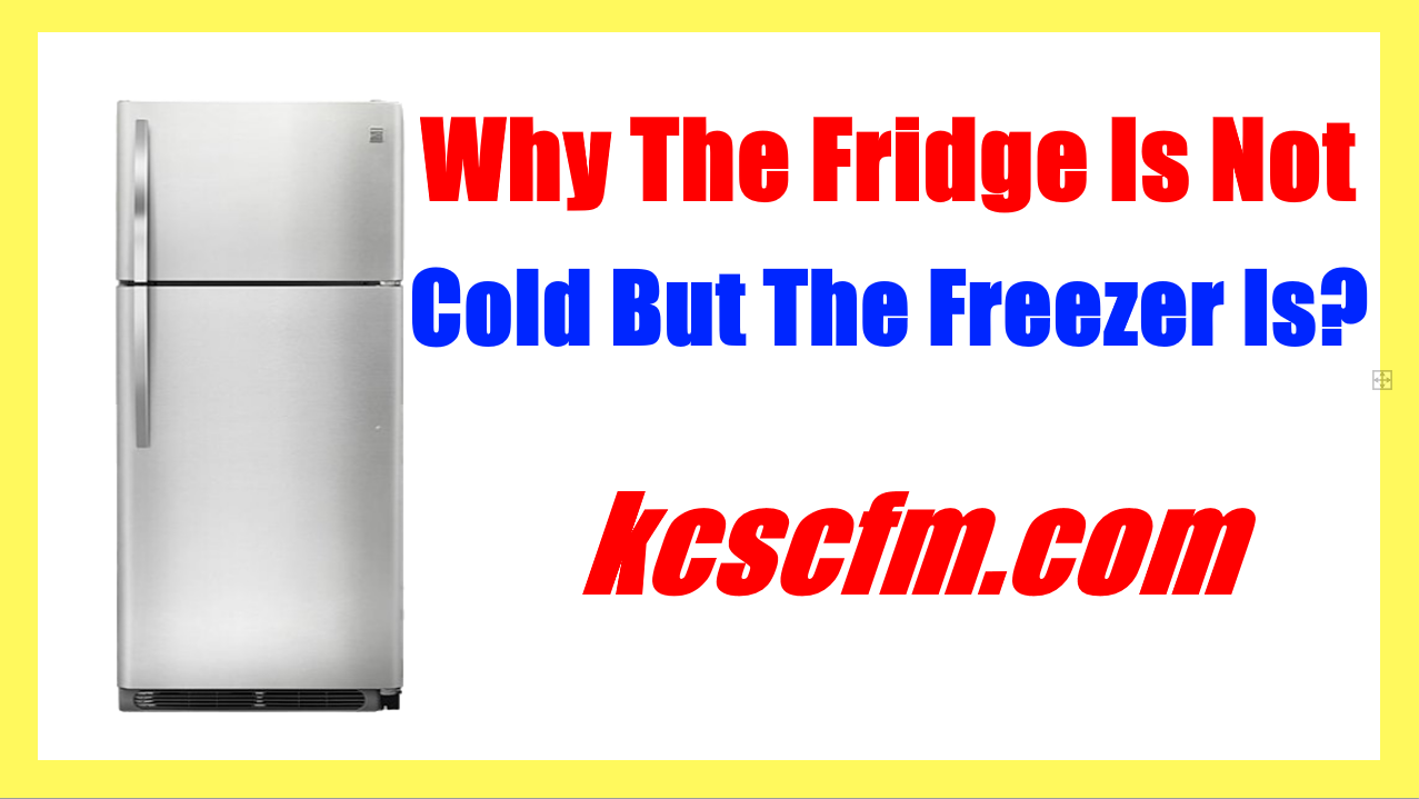 Why The Fridge Is Not Cold But The Freezer Is? - Troubleshoot and Diagnosis