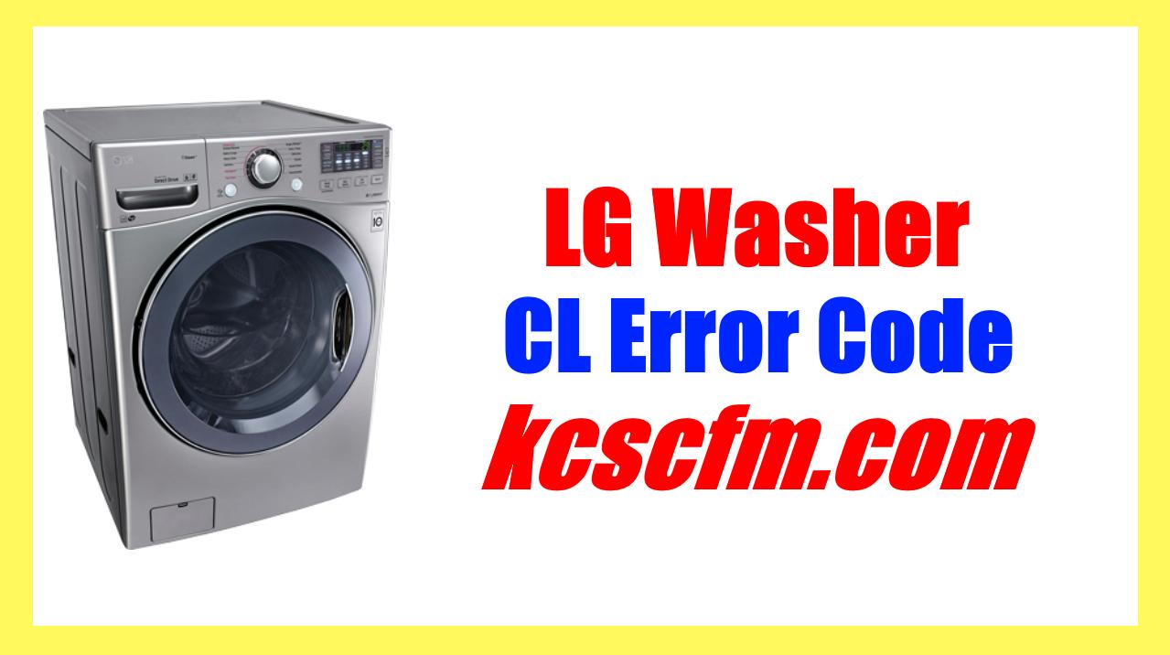 LG Washer CL Error Code